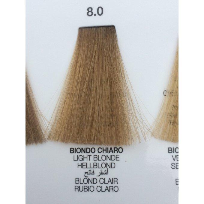 Nu00b08.0 Blond clair Color Glamour 120ml - coiffure-et-formation.fr